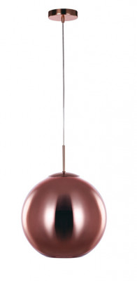Ceiling pendant, medium, Ø 350 mm, Oberon, mains voltage, copper
