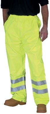 Hi Vis trousers, size XL