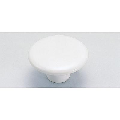 Knob, white