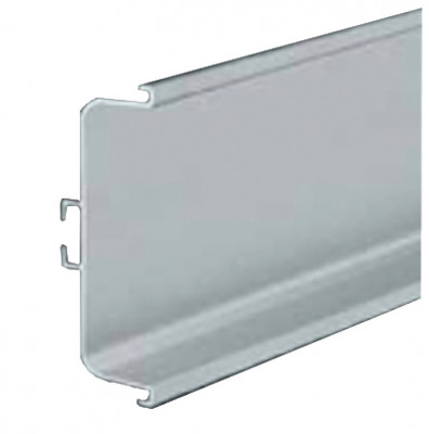 Profile handle, horizontal fixing between doors & drawers, Gola system C plus, bronze