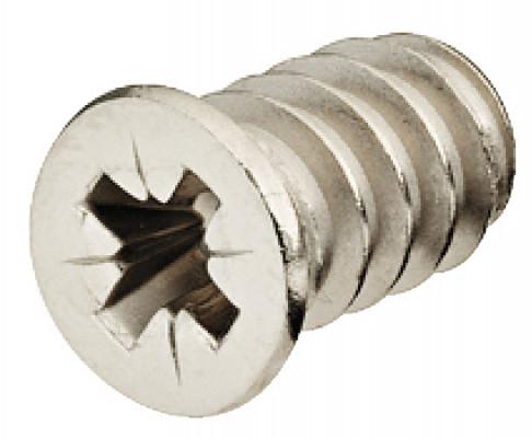 Varianta screw, countersunk head, PZ2, Ø 5.0 mm hole, aluminium profile, L=13.5, nickel