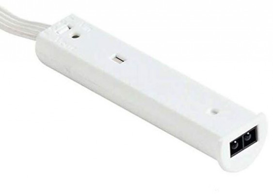 LED mult-functional sensor (door or hand operated) detects, 12V/24V, 50 mm, JB socket
