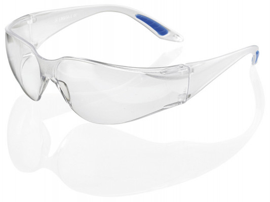 Safety glasses, ultra lightweight, Vagus, clear