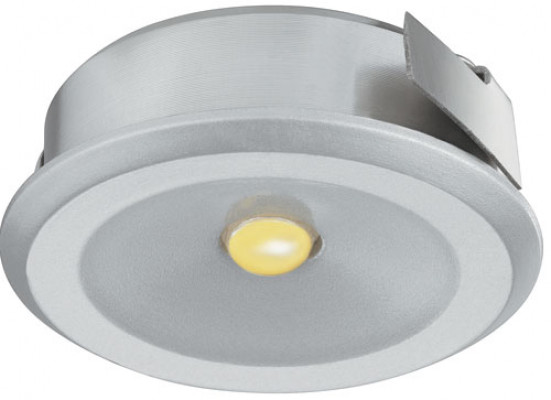 LED Downlight 350mA/1W,  30 mm, IP20, Loox LED 4004, warm white 3000 K