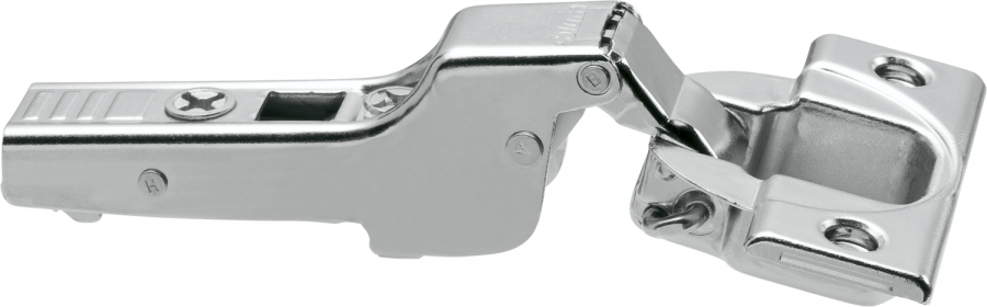 CLIP top hinge 110°, dual applications, unsprung, boss: screw-on, NP