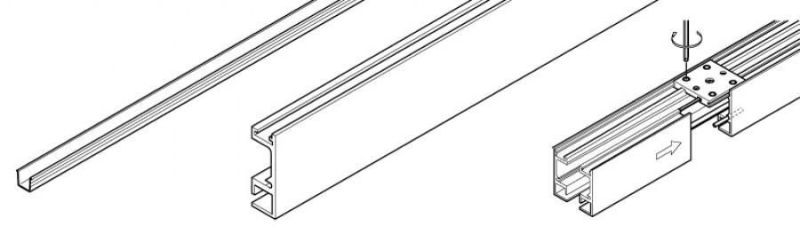 Hawa Aperto 40/F Complete Track Set 2.5M