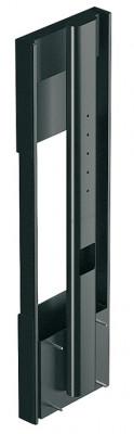 Mechanical lift, push to open, DB Lift-0019, Accuride, swivel +/- 112.5ø, black