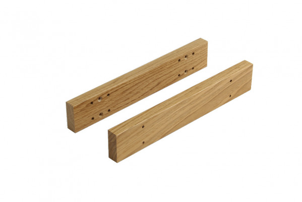 Oak spacer, for solid oak drawers, for in-frame drawers