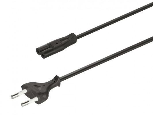 Mains lead, for use with Loox LED drivers, european plug, length 2000 mm