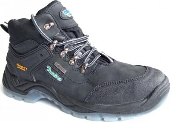 Hiker boots, size 8, black