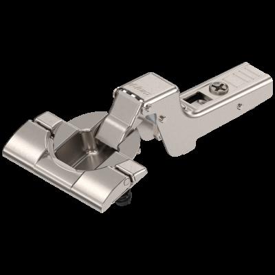 CLIP top hinge 110°, INSET applications,sprung, boss: INSERTA, nickel