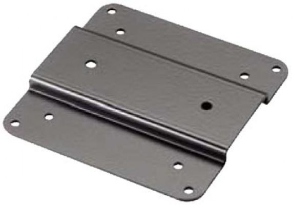Vesa bracket, without tilt, for accuride mechanical lift, black