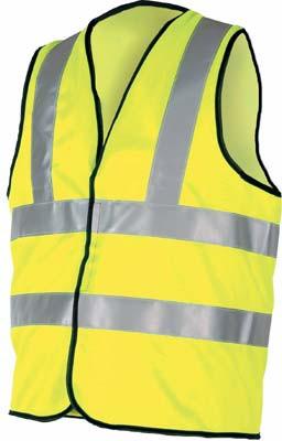 Protective clothing, waistcoat, velcro fastening, Hi Vis, beseen, size xxl