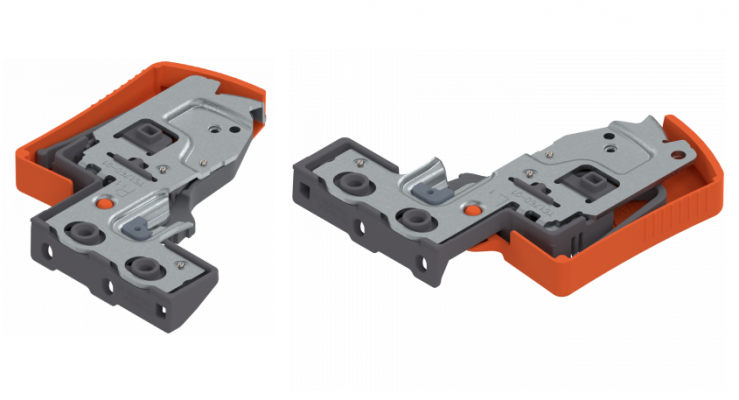 MOVENTO locking device, with side adjustment, left+right hand