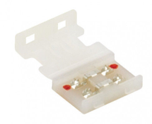 Connector, clip for connecting Loox LED 2030/3030 strip light, white