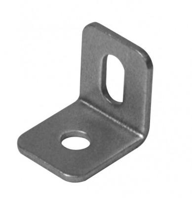 Angle bracket, 15x1.2 mm, zinc