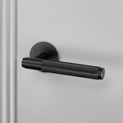 Door handle, fixed, single