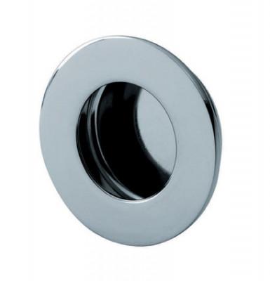 Circular flush pull