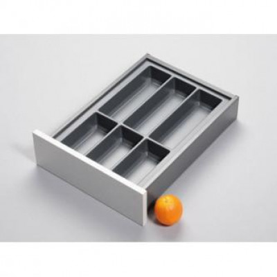 Cutlery divider for LEGRABOX/TA'OR C=400 mm, NL=500 mm, anthracite
