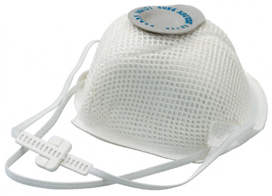 Dust mask, disposable, fine-dust, with comfortable sealing lip, protective class: FPP3