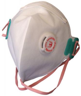 Disposable Fold Flat P2 Dust Mask+Valve