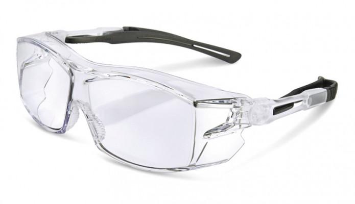 Safety glasses, anti-fog & anti-scratch, Ergo, clear
