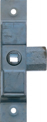 Rim lock, budget, small or large, steel, zinc,large