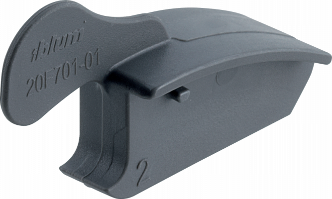 Angle stop for AVENTOS HF, 83° opening, grey