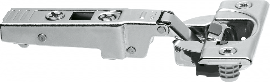 CLIP top BLUMOTION profile door hinge 95°, OVERLAY, boss: screw-on, NP