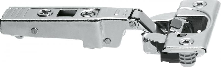 CLIP top BLUMOTION profile door hinge 95°, OVERLAY, boss: screw-on, NP