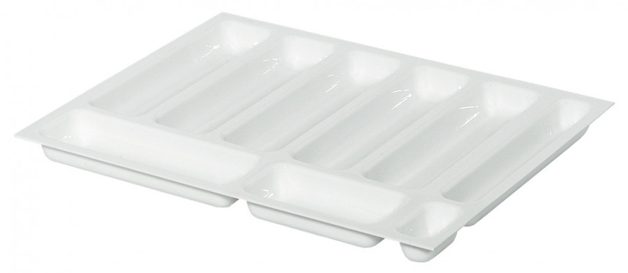 Drawer insert, shallow, variant-d, 2.5 mm material thickness,with 9 compartments
