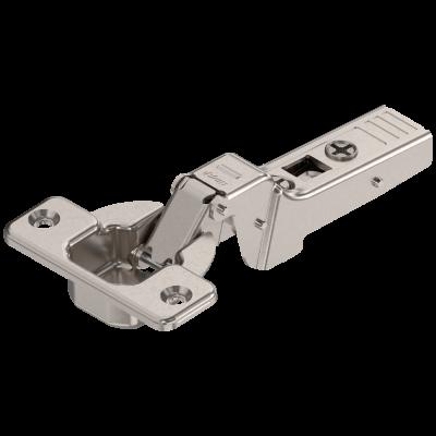 CLIP top profile door hinge 95°, dual applications, boss: SCREW-ON, nickel
