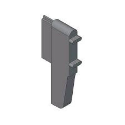 ORGA-LINE spring retainer cross divider profile, for TANDEMBOX, grey