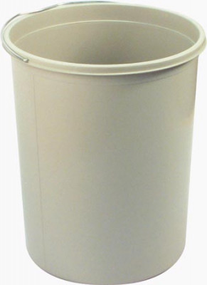 Replacement inner bin, capacity 15 litres, mono, ›272x322 mm, light grey plastic