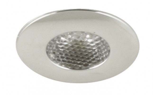 LED Spotlight 1.2W/350mA,  35 mm, IP44, Loox LED pixel, warm white 3000K