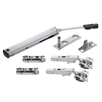 AVENTOS HK-XS stay lift mechanism, PF=200-1000 (one-sided)with hinge/plates/both brackets