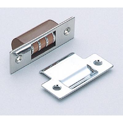 Magnetic roller catch, for inset door
