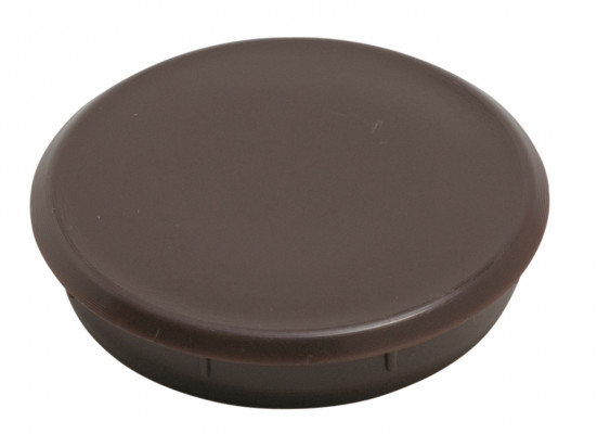 Cover cap, 17 mm, brown
