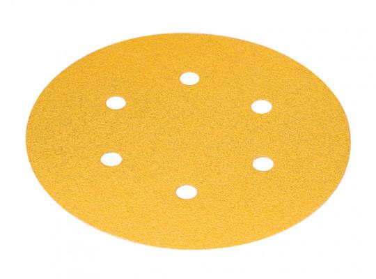 Abrasive disc, 150 mm, 6 hole