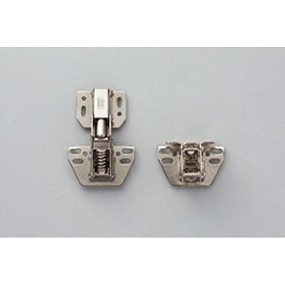 Concealed hinge, surface mounted, zinc