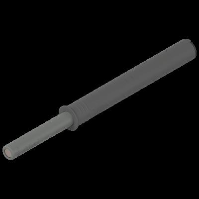 TIP-ON for doors, long version, adjustable magnet, dust grey