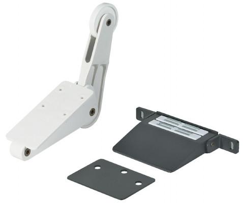 Foot operated door opener, for hinged door cabinets, hailo