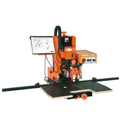 MINIPRESS PRO, drilling & insertion machine, vertical/horizotal drilling & com insert