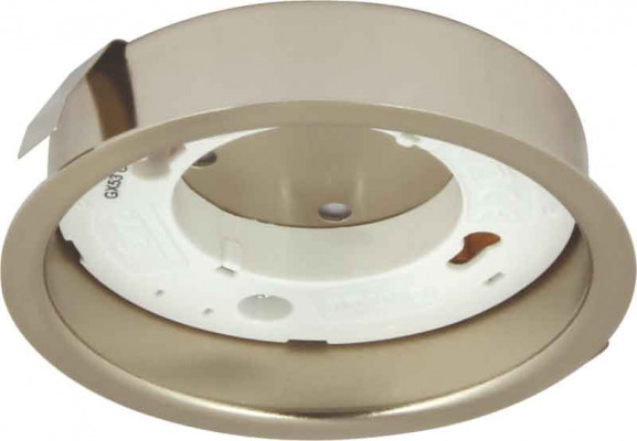Downlight housing (surface), to suit GX53 downlights, Ø 96 mm, rated IP20