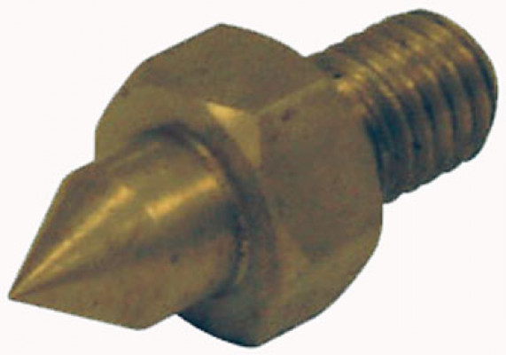 Scribing pin, for unitool drilling jigs, replaces locking screw in end stop