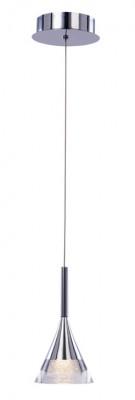 Ceiling pendant, adjustable, IP20, 1 light, jewel, LED, mains voltage, chrome