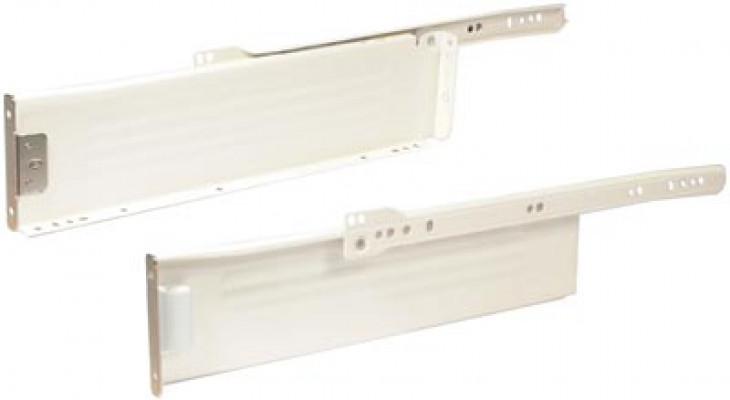 Metal Drawer Sides St Pl/Cwt 85X450mm