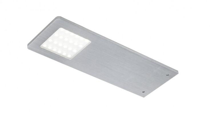 LED downlight 24V/5W, 190x70 mm, IP20, Loox compatible polar up, warmer white 3100 K