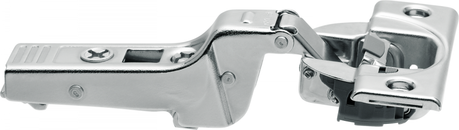 CLIP top BLUMOTION profile door hinge 95°, dual applications, boss: screw-on, NP