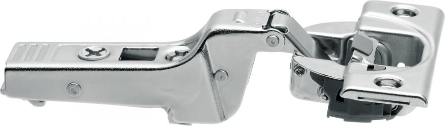 CLIP top BLUMOTION profile door hinge 95°, dual applications, boss: screw-on, NP